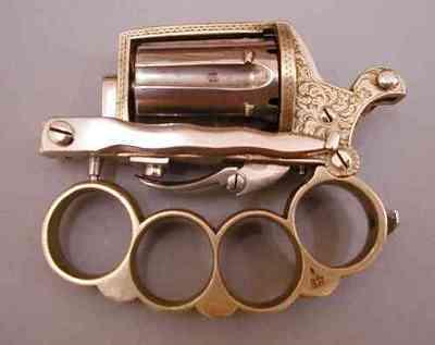 Апач - нож, пистолет и кастет