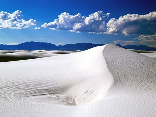 Гипсовая пустыня