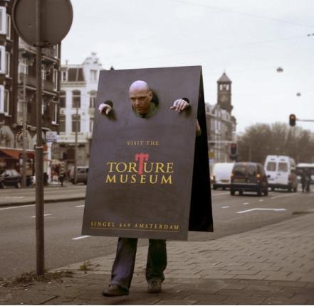 Реклама музея пыток