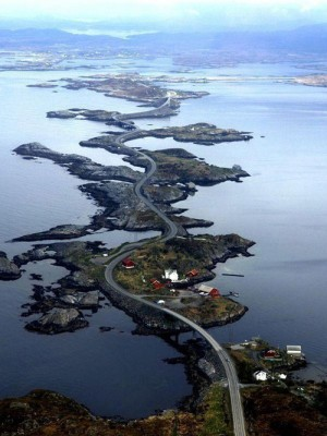 Atlantic Ocean Road, Норвегия